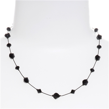 Melinda Necklace - Jet