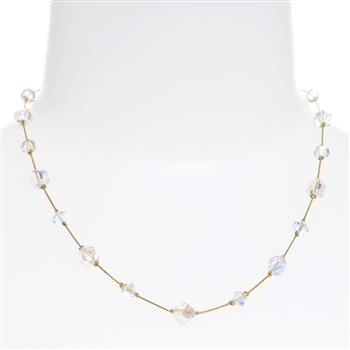Melinda Necklace - Crystal