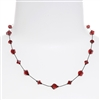 Melinda Necklace - Red