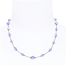 Melinda Necklace - Violet