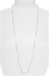 Natalie Necklace - Crystal