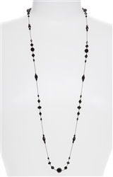 Natalie Necklace - Jet Black