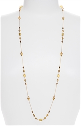 Natalie Necklace - Gold Shimmer