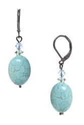Ronnie Fabulous Drop Earring - Turquoise