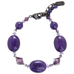 Ronnie Mae Bracelet - Purple