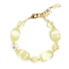 Ronnie Mae Bracelet - Soft Yellow