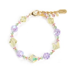 Ronnie Mae Bracelet - Yellow Multi