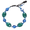 Ronnie Mae Bracelet - Teal / Blue