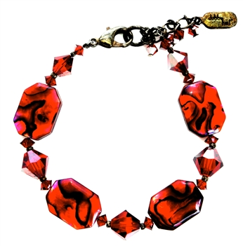 Red Abalone Bracelet | Abalone Shell Jewelry | Red Abalone Jewelry