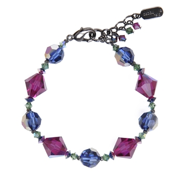 Ronnie Mae Bracelet - Jewel Tone Multi