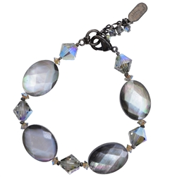 Ronnie Mae Bracelet - Black Shell