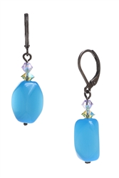 Ronnie Mae Drop Earrings - Aqua Multi