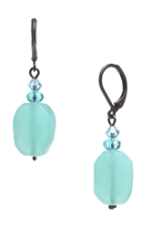 Ronnie Mae Drop Earrings - Pacific Opal