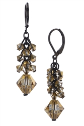 Ronnie Mae Long Earrings - Gold