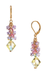 Ronnie Mae Long Earrings - Yellow Multi