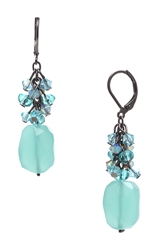 Ronnie Mae Long Earrings - Pacific Opal