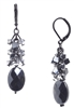 Ronnie Mae Long Earrings - Hematite