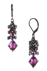 Ronnie Mae Long Earrings - Jewel Tone Multi