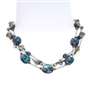 Ronnie Mae Necklace - Natural Abalone