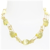Ronnie Mae Necklace - Soft Yellow