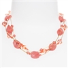Ronnie Mae Necklace - Coral