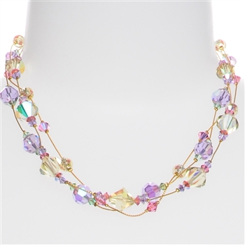 Ronnie Mae Necklace - Yellow Multi