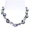 Ronnie Mae Necklace - Black Shell