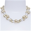 Ronnie Pearl Necklace - Cream