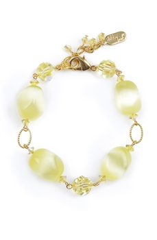 Ronnie Ring Bracelet - Yellow