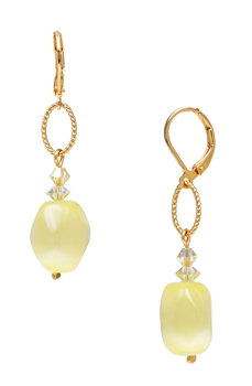Ronnie Ring Earring - Yellow