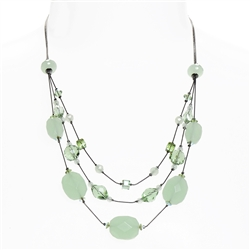 Ronnie Tier Necklace - Mint