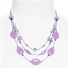 Ronnie Tier Necklace - Violet