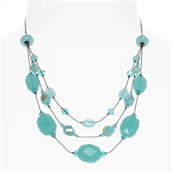 Ronnie Tier Necklace - Pacific Opal