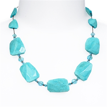 Taylor Necklace - Turquoise