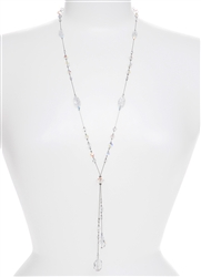 Willow Necklace - Crystal