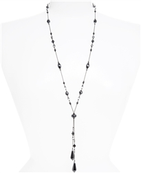 Willow Necklace - Hematite