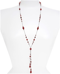 Willow Necklace - Red