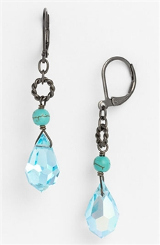 Zoie Drop Earring - Turquoise